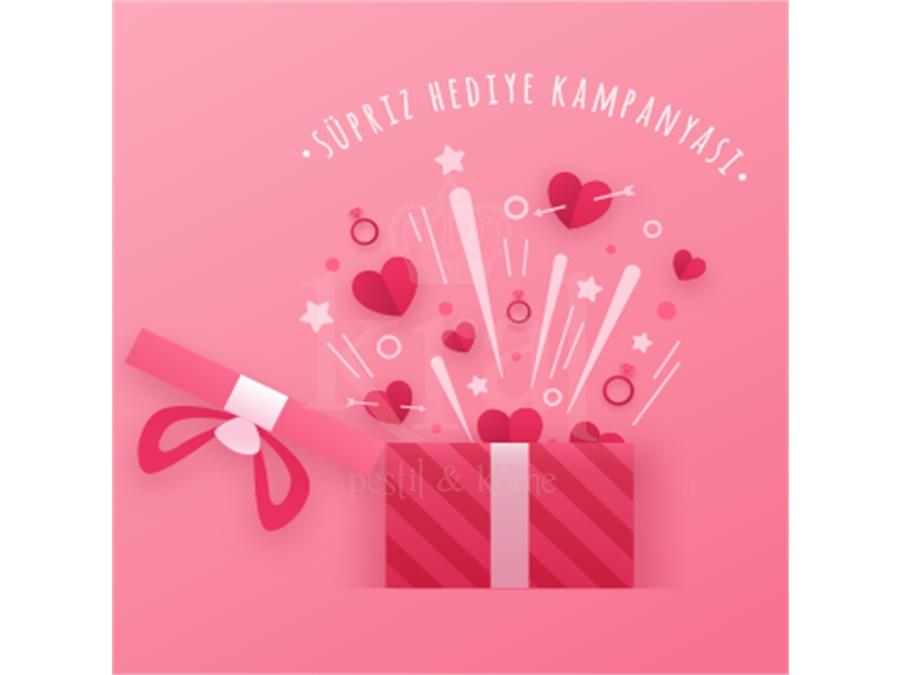 Sevgililer günü süpriz hediye kampanyası! (Sona erdi)