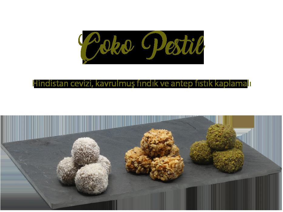 Çoko Pestil Çeşitleri